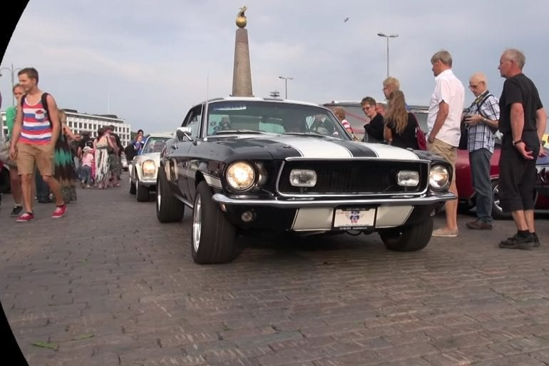 1968 Ford Mustang California Special V8 Engine Sound