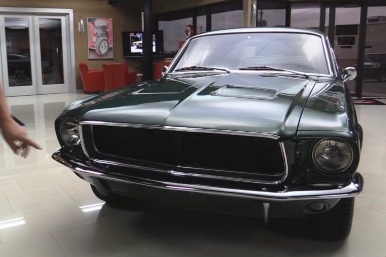 1968 Ford Mustang Bullitt Replica Quick Overview