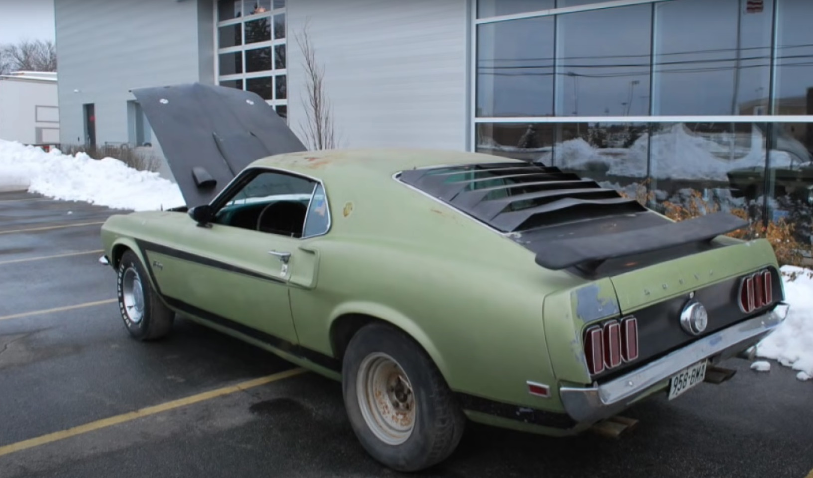 Restoring A 1969 Ford Mustang