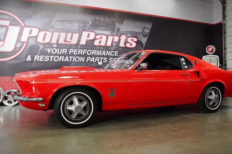 1969 Ford Mustang Limited Edition 600 Overview