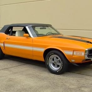 Video: 1970 Shelby Mustang GT350 Convertible