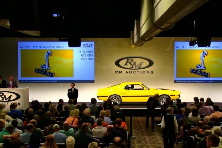 Video: 1970 Shelby GT350 Fastback At An Auction