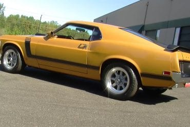 Video: Closer Look At A Metallic Gold 1970 Ford Mustang Boss 302