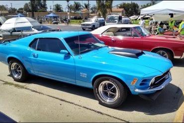Video: 1970 Ford Mustang Boss 429 Start Up