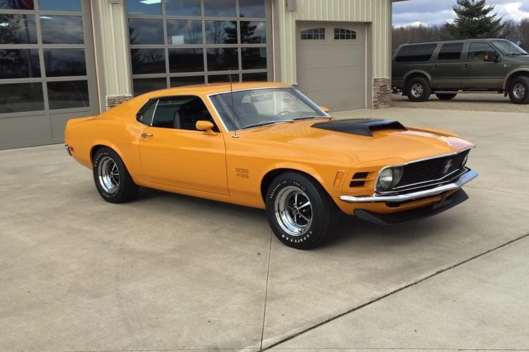 Video: Take A Look At This Beautiful Restored 1970 Ford Mustang Boss 429