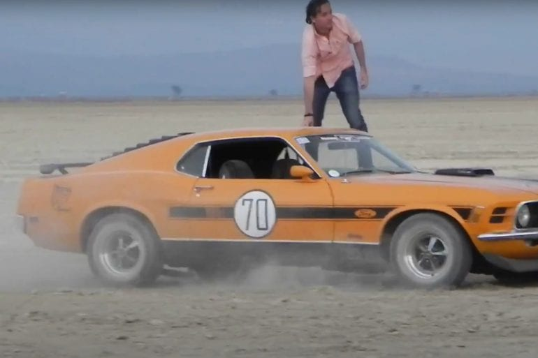 Video: 1970 Ford Mustang Twister Special At Laguna Seca