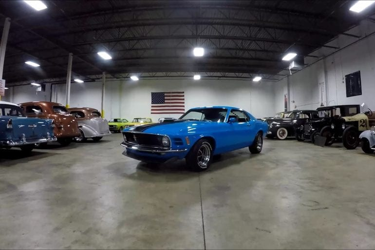 Video: Blue1970 Ford Mustang Grabber Quick Tour