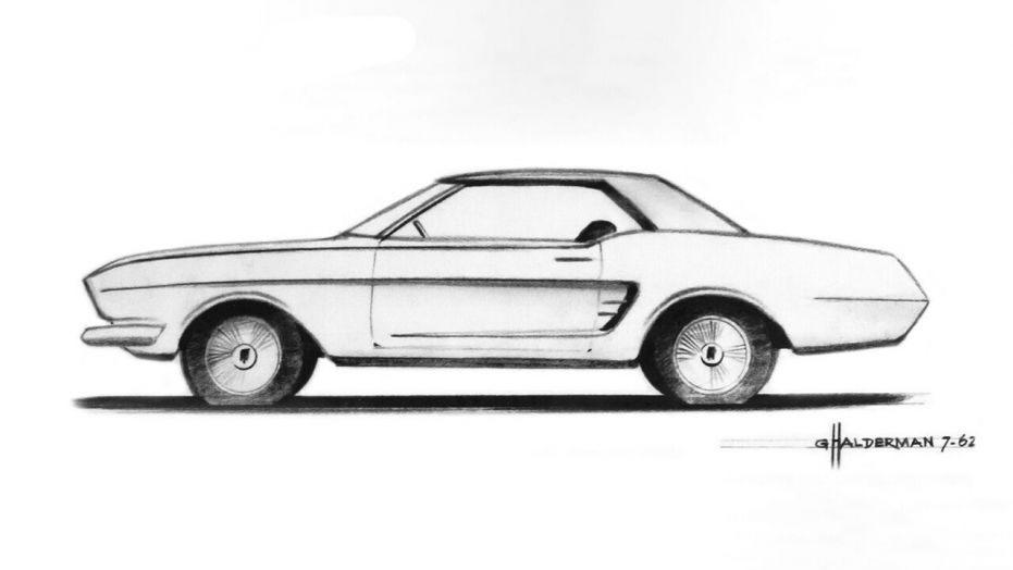 Gale-Halderman-Mustang-Sketch