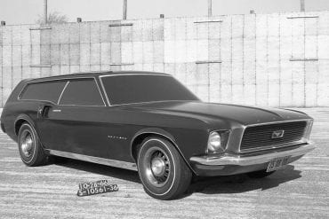 Ford Mustangs That Never Were: 1966 Mustang station wagon