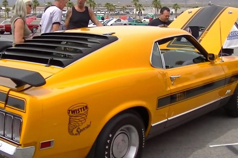 Video: Restored 1970 Ford Mustang Twister Special