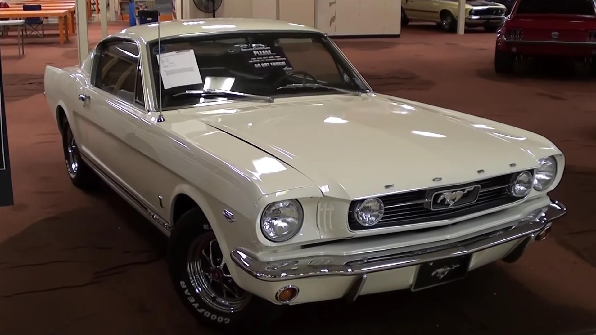 Restored 1966 Ford Mustang Fastback V8 Walkaround