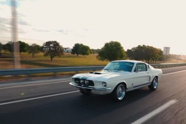 Re-engineered 1967 Shelby GT350 in Wimbledon White