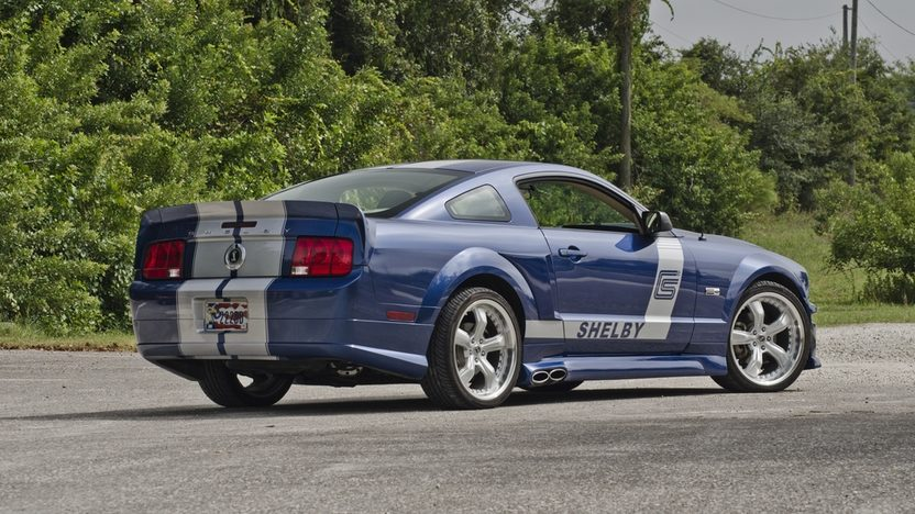 Rear View 2006 Shelby CS8