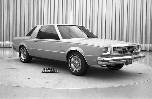 Even in 1975, Telnack's vision for the next-generation Mustang is revealed in this early prototype. With a year, this second prototype, first unveiled in July, 1976, shows an almost fully realized Fox-body Mustang in its final configuration.