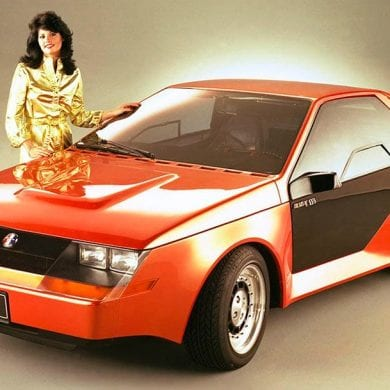 1980 Ford Mustang RSX Concept