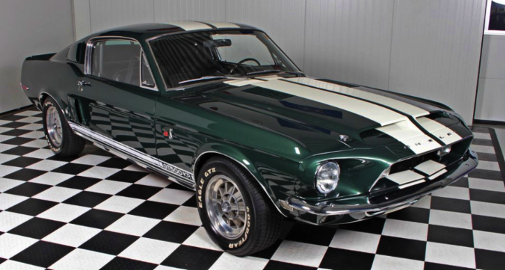 The 1968 Shelby GT500KR Mustang