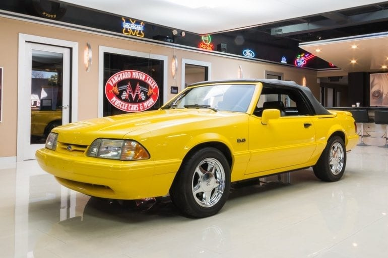 1993 Ford Mustang Special LX 5.0L Convertibles