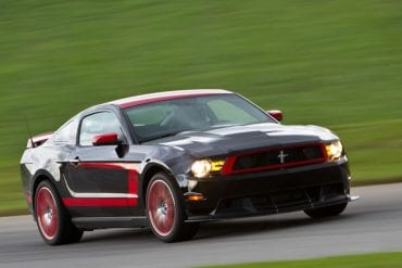 Video: 2012 Ford Mustang Boss Laguna Seca 302 POV Lightning Lap!