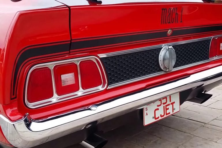 Video: 1973 Ford Mustang Mach 1 Quick Tour + Engine Sound
