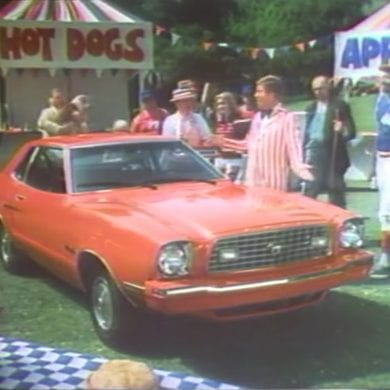 1975 Ford Mustang II Commercials