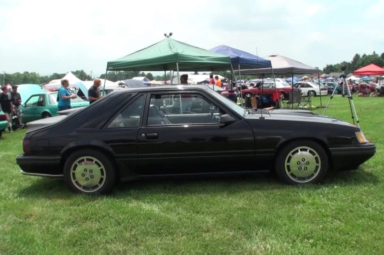 Video: 1985 Ford Mustang SVO Overview + Engine Sound