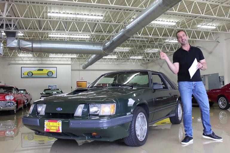 Video: 1985 Ford Mustang SVO Hertz Walkthrough + Test Drive
