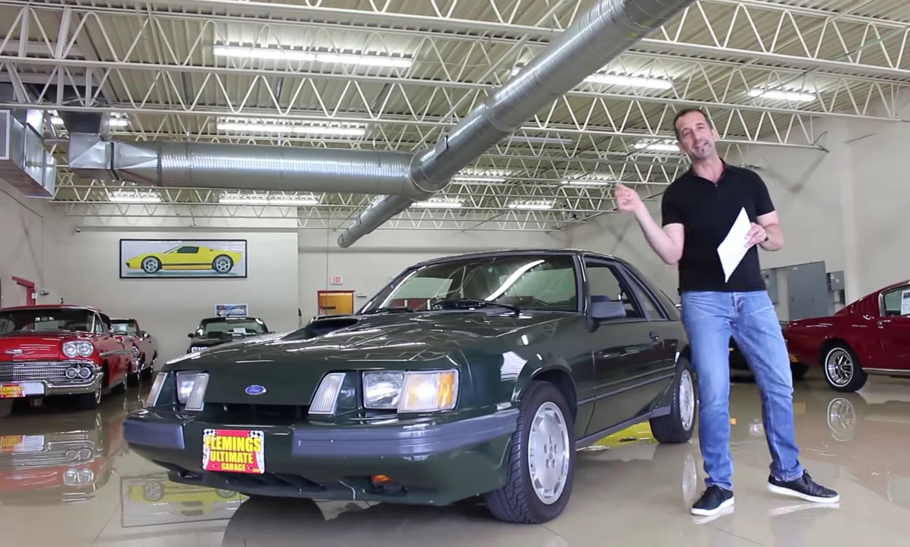 Video: 1985 Ford Mustang SVO Hertz Walkthrough + Test Drive