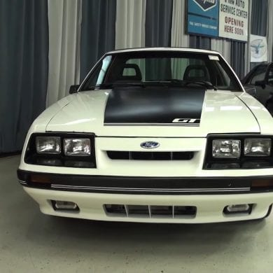 Video: 1985 Ford Mustang Twister II Special Overview + Engine Sound