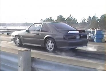 Video: 1987 Ford Mustang GT Automatic 1/4 Acceleration
