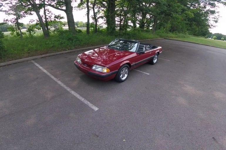 Video: 1989 Ford Mustang LX 5.0L Sport POV Test Drive