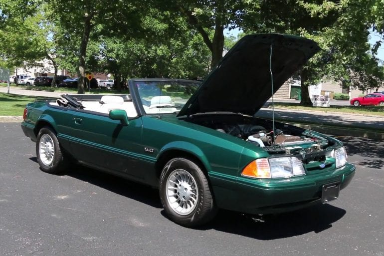 Video: 1990 Ford Mustang Spring Feature 25th Anniversary 7-Up Convertible Quick Overview