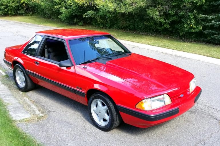Video: 1991 Ford Mustang LX Cold Start