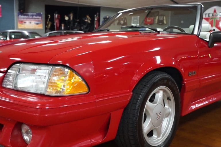Video: 1991 Ford Mustang GT Convertible Walkaround + Test Drive