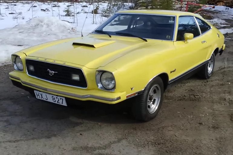 Videos: 1975 Ford Mustang Mach 1 Engine Sound