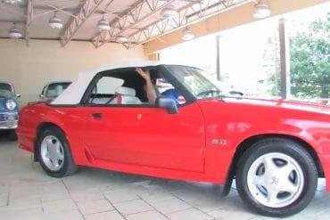 Video: 1992 Ford Mustang Convertible Walkthrough + Test Drive
