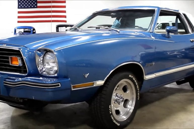 Video: 1976 Ford Mustang Ghia Quick Walkaround