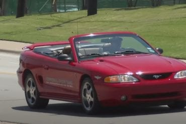 Video: 1994 Ford Mustang SVT Cobra Pace Car Test Drive
