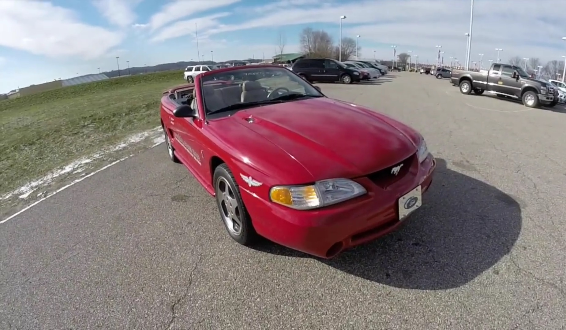 Video: 1994 Ford Mustang SVT Cobra Pace Car Walkaround