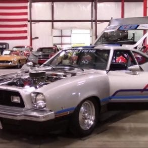 Video: 1976 Ford Mustang II Quick Tour + Exhaust Sound