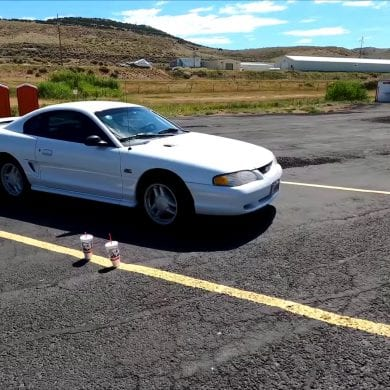 Video: 1995 Ford Mustang GT 1/8 Mile Acceleration