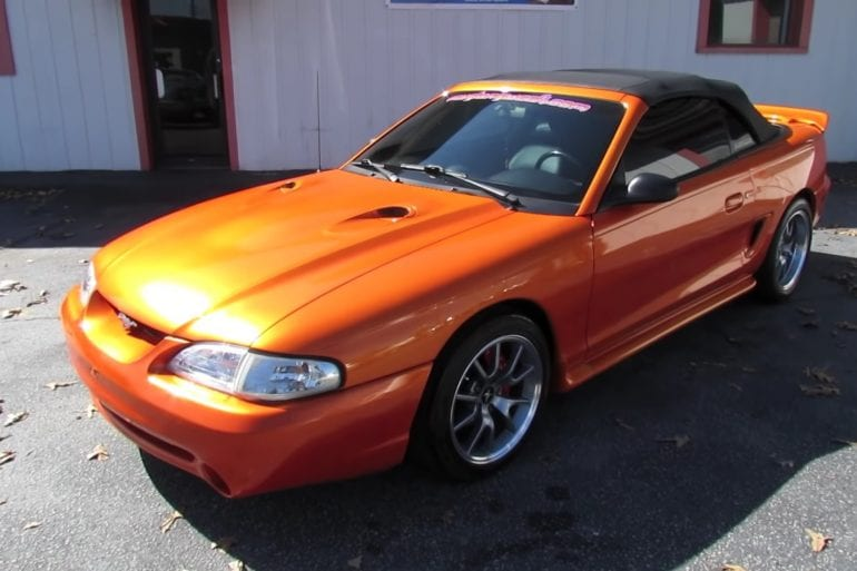 Video: Custom 1995 Ford Mustang GT Convertible In-Depth Tour