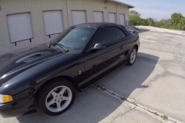 Video: Check Out The Incredible Story Behind This 1996 Ford Mustang SVT Cobra