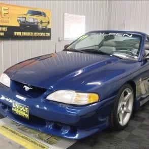 Video: 1997 Ford Mustang Saleen S281 Convertible In-Depth Tour
