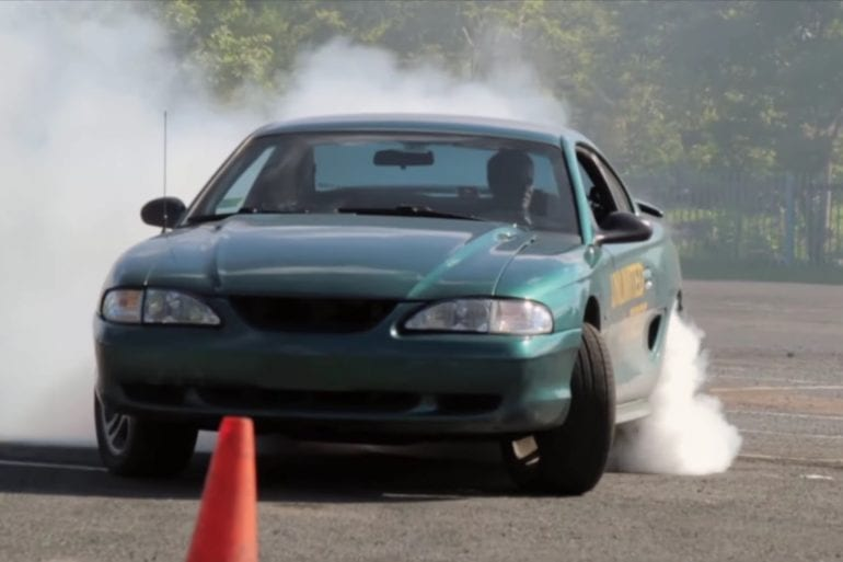 Video: Crazy Drifting By A 1997 Ford Mustang GT