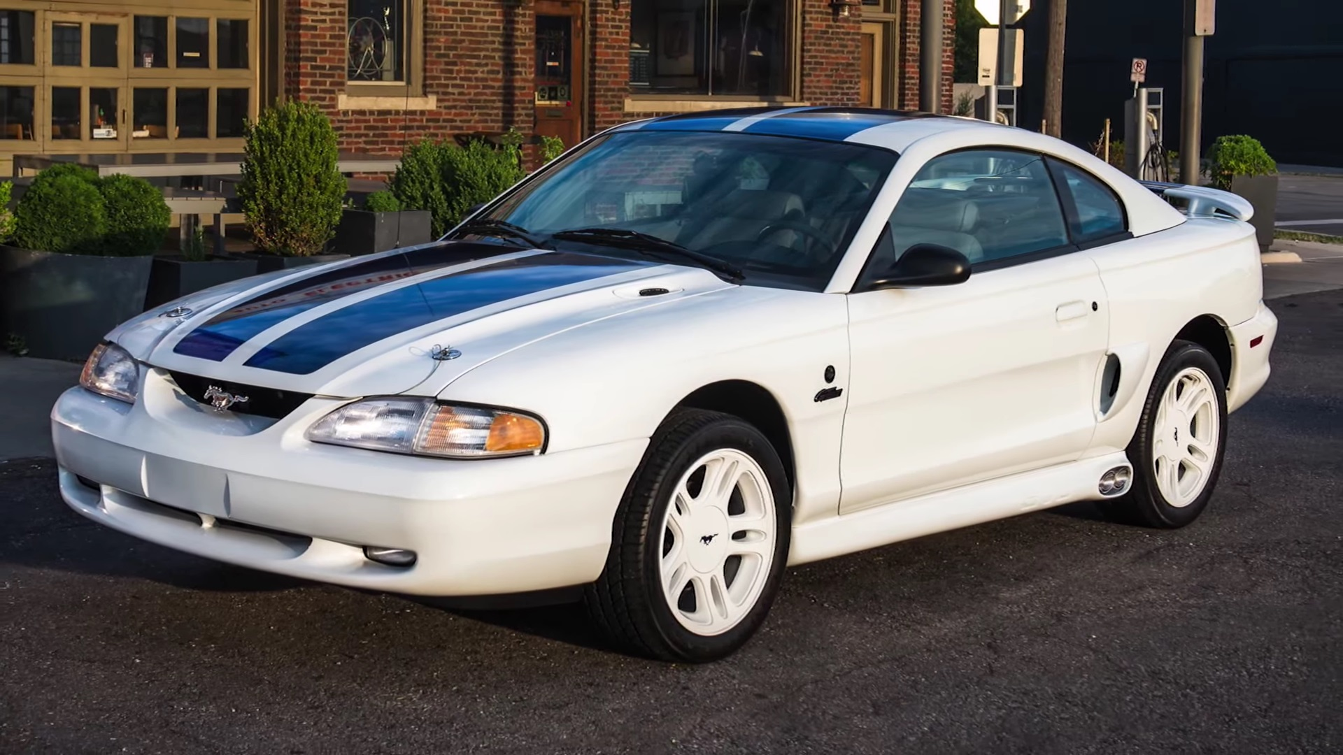 Video: Quick Look At A 1997 Ford Mustang SVO Woodward Dream Cruise