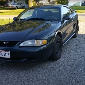 Video: 1998 Ford Mustang 3.8L V6 Walkaround
