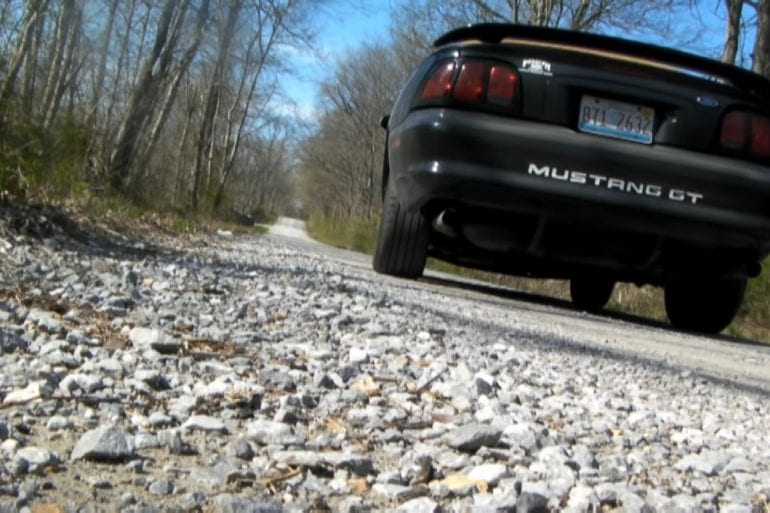Video: 1998 Ford Mustang GT With Super Loud Takeoff