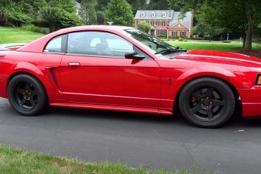 Video: Quick Look At A Very Clean 1999 Ford Mustang SVT Cobra!