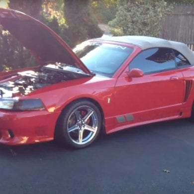 Video: 1999 Ford Mustang SVT Cobra With Saleen Body Kit Walkaround
