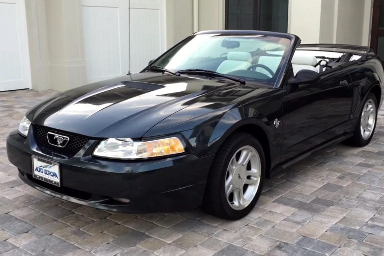 Video: Check Out This Gorgeous 1999 Ford Mustang GT Cabrio